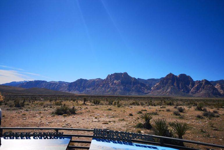 Red Rock Canyon Aussichtsplattform